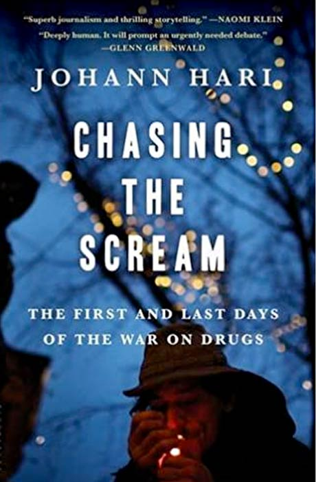 Cover of Chasing the Scream by Johann Hari